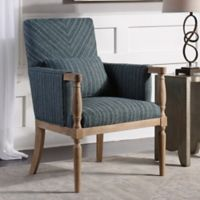 Uttermost Seamore Armchair in Blue