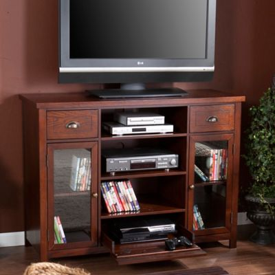 Southern Enterprises Porter Gaming/Media Console In Espresso