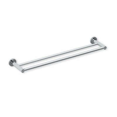 Gatco Channel 24 Inch Double Towel Bar In Chrome