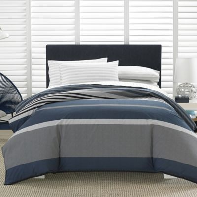 Nautica  Tarpaul Queen Comforter Set in Charcoal Grey. Buy Nautica Comforter Set from Bed Bath   Beyond
