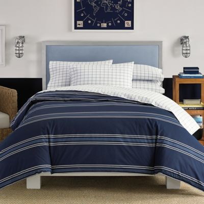 Nautica  Acton Full Comforter Set in Navy. Buy Nautica Twin XL Bedding from Bed Bath   Beyond