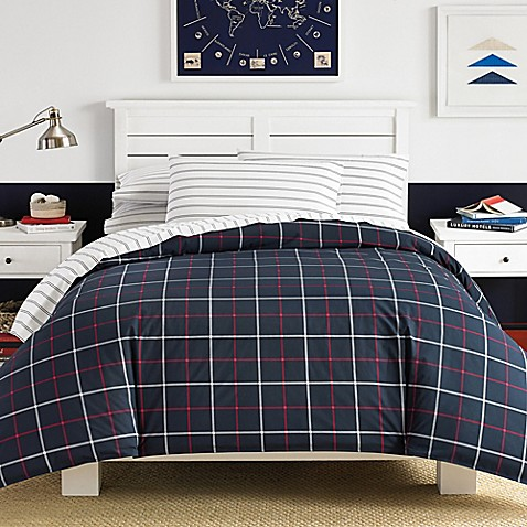 Nautica tillington comforter set in navy bed bath beyond - Bed bath and beyond bedroom furniture ...