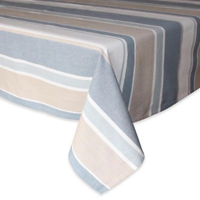 Beautiful Park B. Smith® Julian 52 Inch X 70 Inch Oblong Stripe Tablecloth