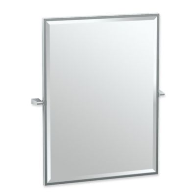 Chrome Wall Mirror buy chrome wall mirrors from bed bath & beyond