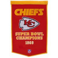 NFL Kansas City Chiefs Dynasty Banner