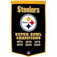 NFL Pittsburgh Steelers Super Bowl XLV Dynasty Banner