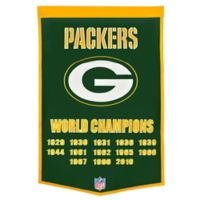 NFL Green Bay Packers Super Bowl XLV Dynasty Banner