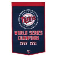 MLB Minnesota Twins Dynasty Banner