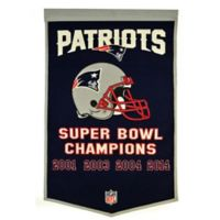 NFL New England Patriots Dynasty Banner