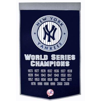 MLB New York Yankees Dynasty Banner