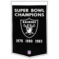 NFL Oakland Raiders Dynasty Banner