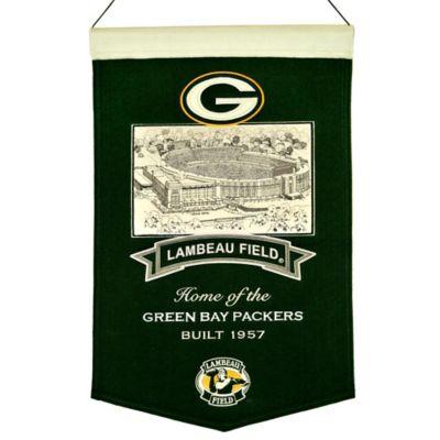 NFL Green Bay Packers Lambeau Field Stadium Banner