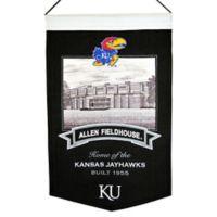 University of Kansas Fog Allen Fieldhouse Stadium Banner