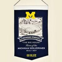 University of Michigan Stadium Banner
