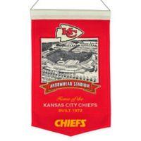 NFL Kansas City Chiefs Arrowhead Stadium Banner