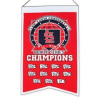MLB St. Louis Cardinals Champions Banner