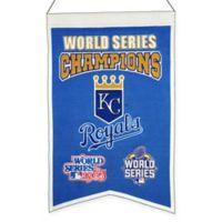 MLB Kansas City Royals Champions Banner