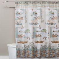 Saturday Knight Lake House Shower Curtain