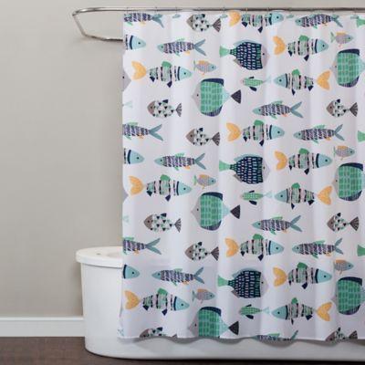 Saturday Knight Wave Runner Shower Curtain
