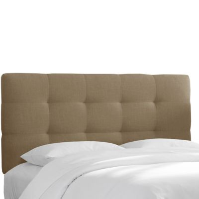 skyline furniture shelby california king headboard in mouse