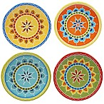 Certified International Valencia Canape Plates (Set of 4)