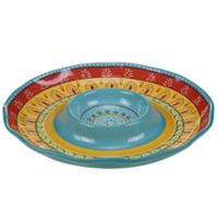 Certified International Valencia Chip and Dip Tray