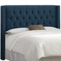 Skyline Furniture Drexel Queen Headboard in Navy