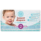 Honest 40-Pack Size 2 Diapers in Teal Tribal Pattern