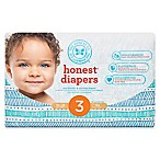 Honest 34-Pack Size 3 Diapers in Teal Tribal Pattern
