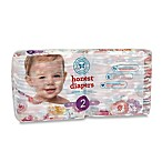 Honest 40-Pack Size 2 Diapers in Rose Blossom Pattern