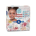 Honest 22-Count Size 6 Diapers in Rose Blossom Pattern