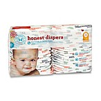Honest 44-Pack Size 1 Diapers in Multicolored Giraffe Pattern