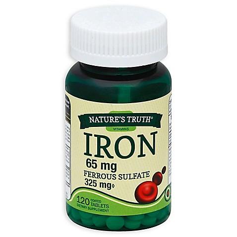 Iron sulfate 65 mg