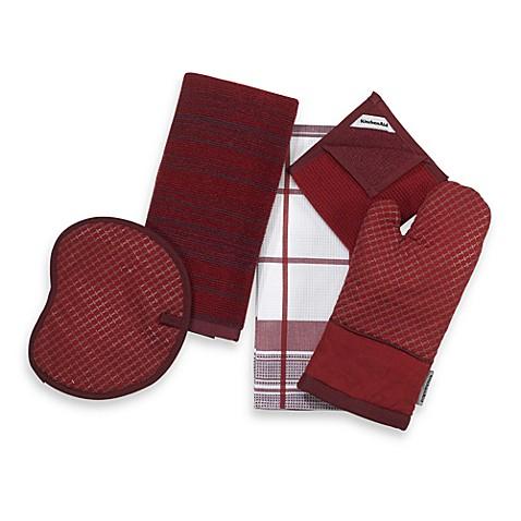 Kitchenaid gourmet gallery textured silicone grip oven mitt bed bath beyond - Kitchenaid oven gloves ...