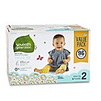 Seventh Generation™ 96-Count Size 2 Free & Clear Diapers