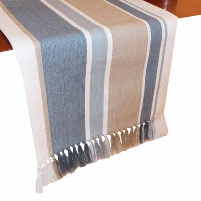 Park B. Smith® Julian Stripe 72 Inch Table Runner In Blue