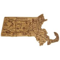 Totally Bamboo Destination Massachusetts Cutting/Serving Board