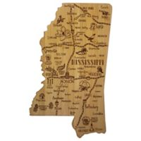Totally Bamboo Destination Mississippi Cutting/Serving Board