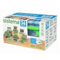 Sistema® Accents 36-Piece Food Storage Set
