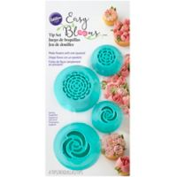 Wilton® 4-Piece Easy Bloom Cake Decorating Tip Set