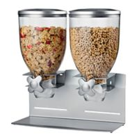 Honey-Can-Do® Double Pro Model Dispenser in Silver