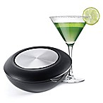 Honey-Can-Do® The Margarita Island in Black/Silver