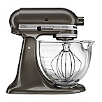 KitchenAid® 5 qt. Artisan® Design Series Stand Mixer with Glass Bowl in Truffle Dust