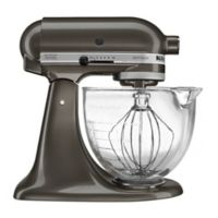 KitchenAid® 5 qt. Artisan® Design Series Stand Mixer with Glass Bowl in Slate