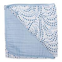 Bebe Au Lait® Muslin Snuggle Blanket in Serenity/Sky