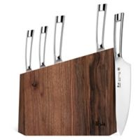 Cangshan N1 Series 6-Piece Knife and Walnut Wood Block Set