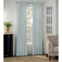 Newport 54-Inch Grommet Window Curtain Panel in Mist