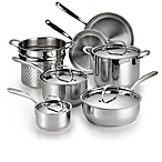 Lagostina Luminosa Stainless Steel 11-Piece Cookware Set