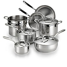 Lagostina Luminosa Stainless Steel 11-Piece Cookware Set and Open Stock Collection
