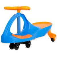 Lil' Rider Wiggle Ride-On Car in Blue/Orange